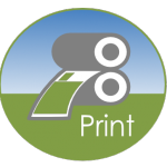 Rural Web B-Live Design Icon,Print and print products for Countryside companies