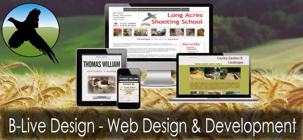 Rural Web Design and development