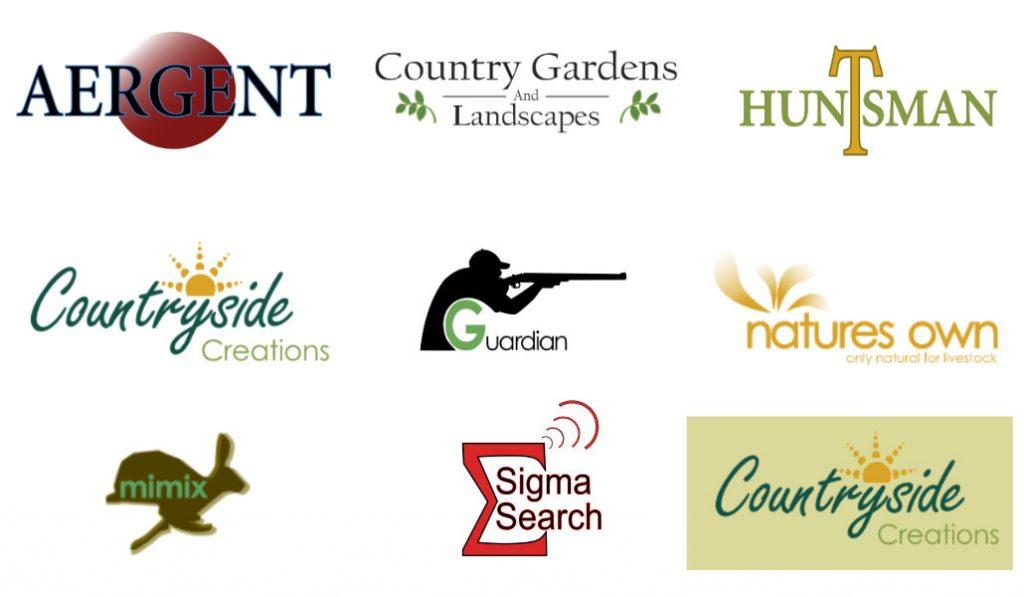 Rural logo design countryside based companies
